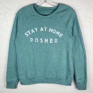 3 FOR $15! Stay At Home Posher Upcycled Sweatshirt